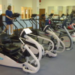 Picture of exercise machines